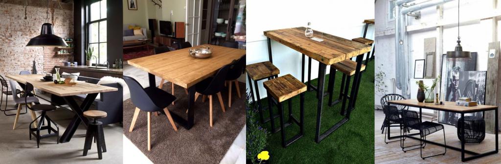 Tendencia industrial en las mesas de comedor – Comedores ...