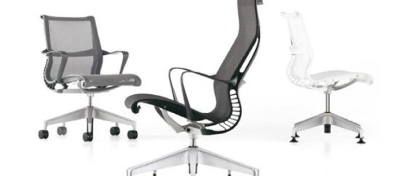 Sillas para oficina verdaderamente ergonómicas.