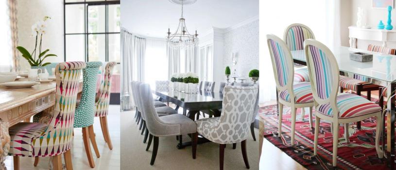 Cómo tapizar tus sillas de comedor con las últimas tendencias