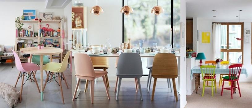 Ideas geniales para combinar tus sillas para comedor