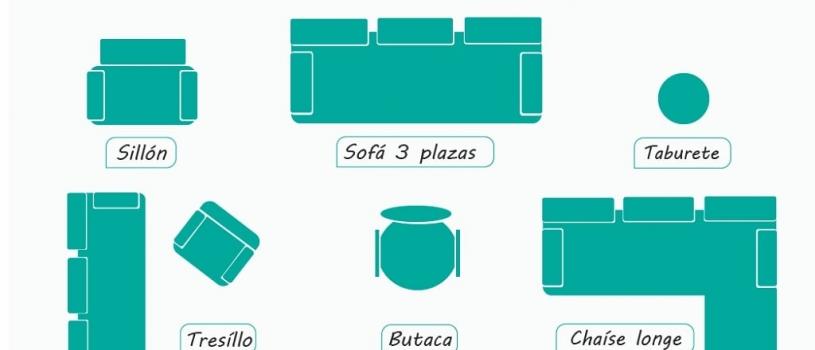 El vocabulario correcto para comprar un sofá cama