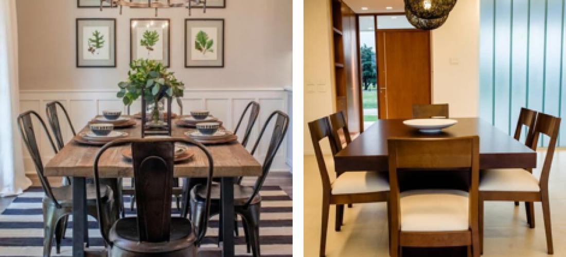 Los comedores en el hogar son el punto de unión y armonía según el Feng Shui