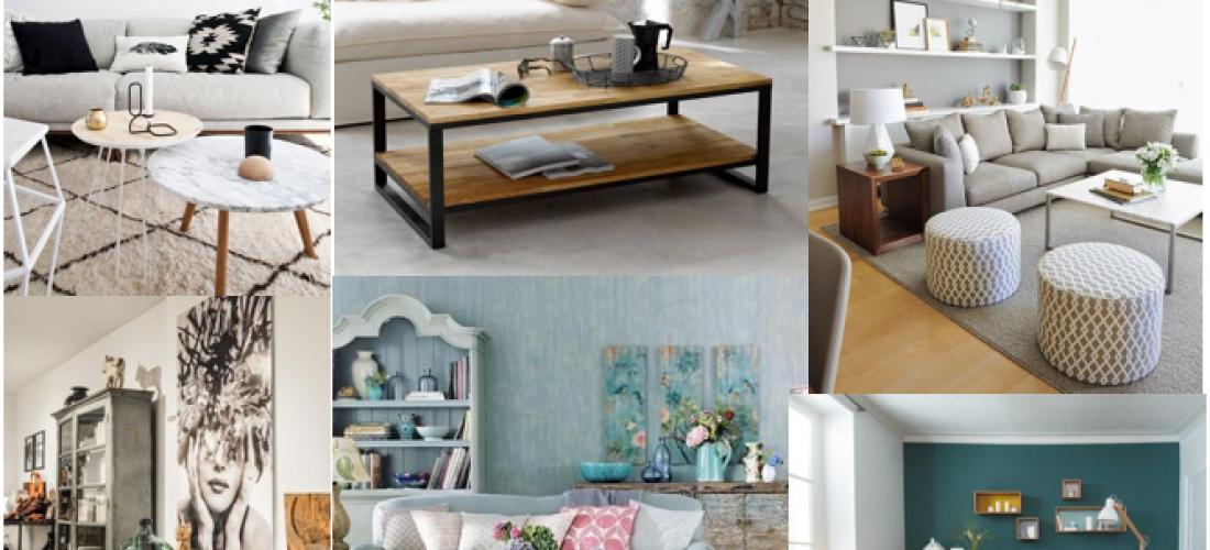 5 Tendencias Indispensables para decorar tu sala